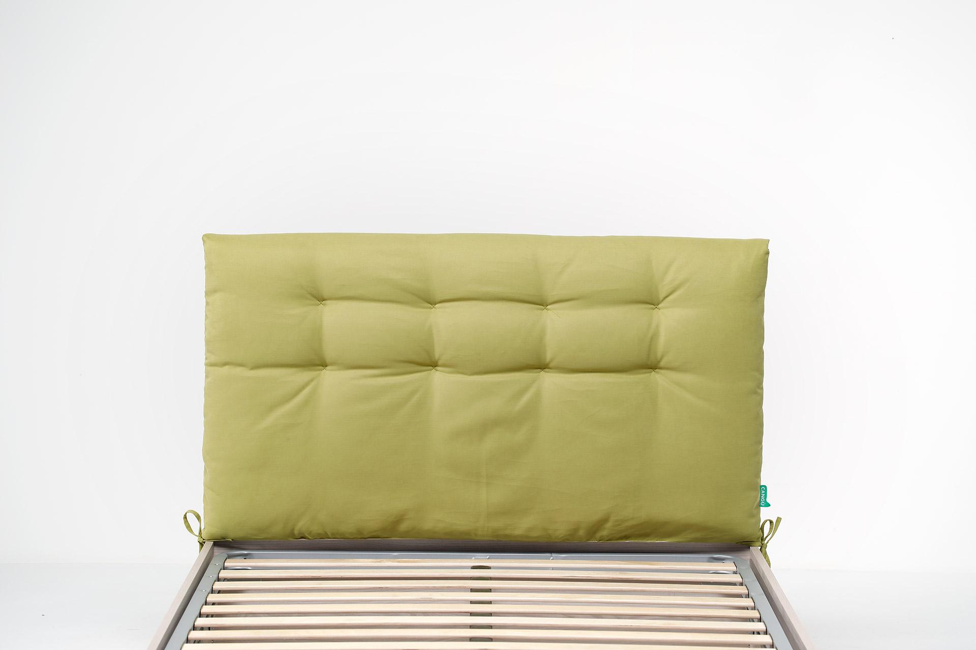 Cuscino testata soffice e trapuntato del letto contenitore di larghezza 120 - Cuscino testata letto ...