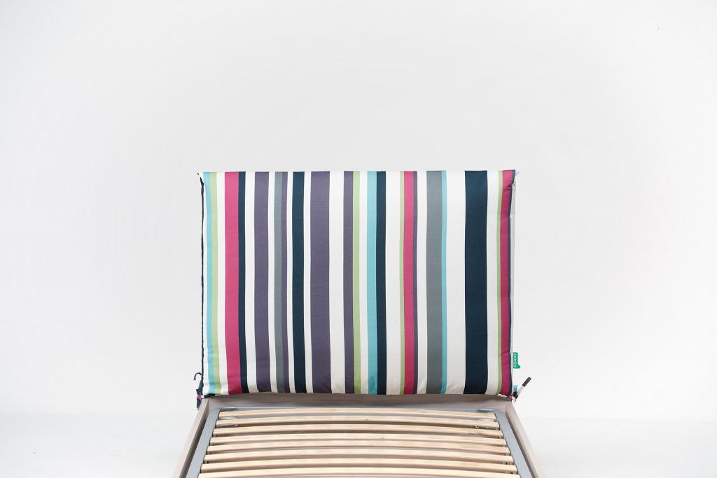 Testiera Per Letto Singolo : Cuscino testata per montaggio su struttura letto hi box di