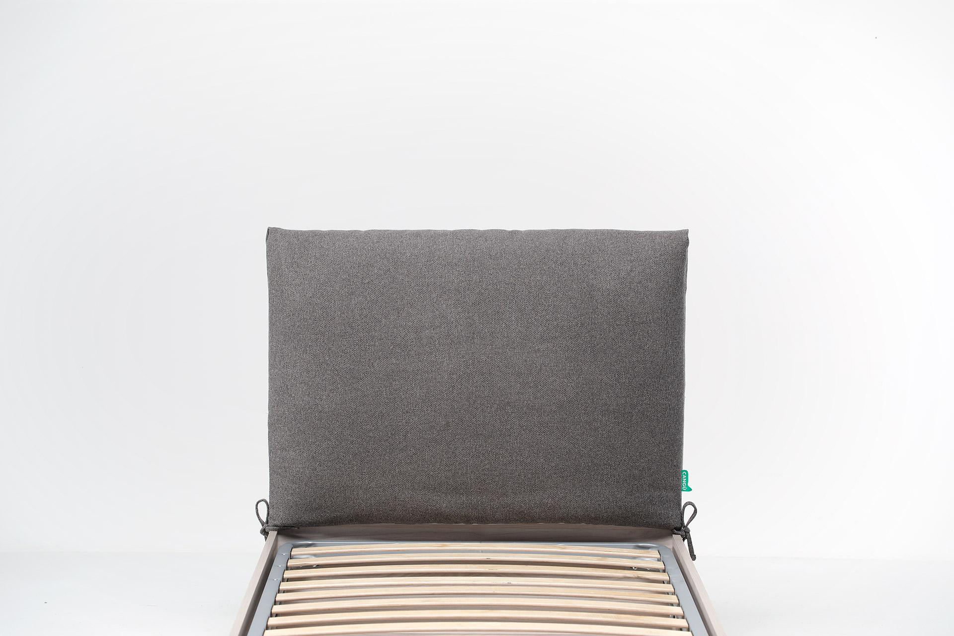 Cuscino testata singolo su struttura letto contenitore di larghezza 90 - Cuscino testata letto ...