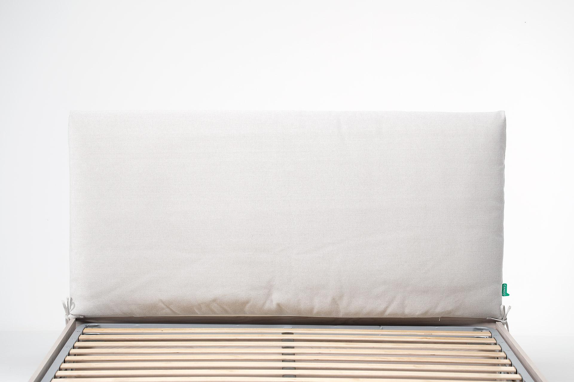 Cuscino testata del letto su struttura letto contenitore di larghezza 160 - Cuscino testata letto ...
